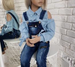 Ogrodniczki Together jeans