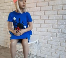 Sukienka Mickey Kleks kobalt