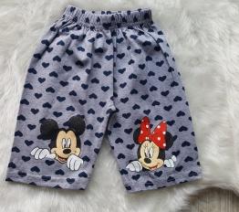 Spodenki Mickey szare
