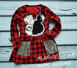 Sukienka Mickey krata