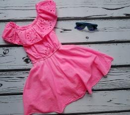 Sukienka letnia espana summer neon