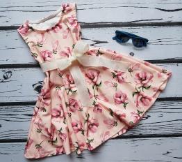 Sukienka letnia peonie