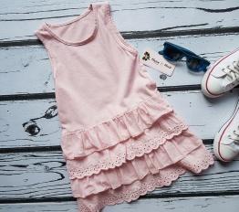 Sukienka summer falbanki