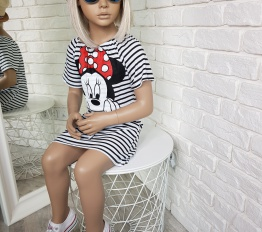 Sukienka minnie Stripes