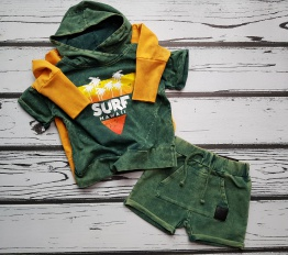 T-shirt Despacito surf zielony