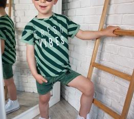 T-shirt Fresh Vibes zieleń