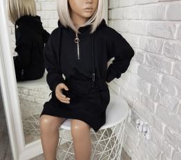 Sukienka/Tunika Zip czarna