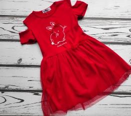 Sukienka Small Bunny czerwień