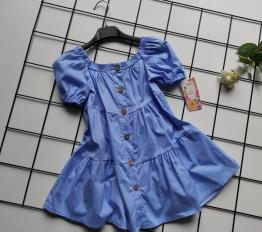 Sukienka parts błękit