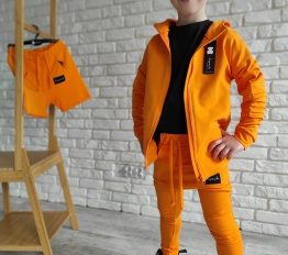 Bluza Despacito Basic pomarańcz