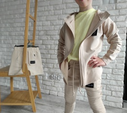 Bluza Despacito Basic beżowa