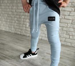 Spodnie Despacito basic błękit