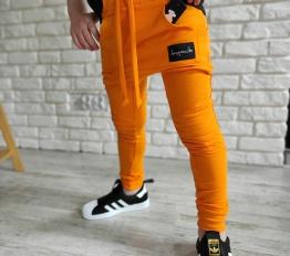 Spodnie Despacito basic pomarańcz