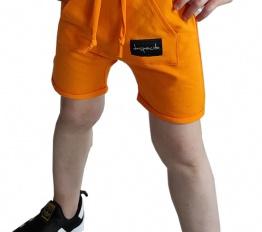 Szorty Despacito Basic pomarańcz