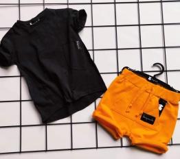 T-shirt Despacito Basic czarny
