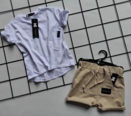 T-shirt Despacito Basic biały