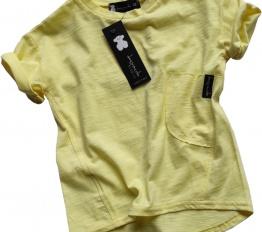 T-shirt Despacito Basic cytryna