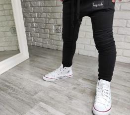 Spodnie Despacito basic czarne