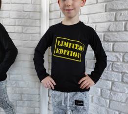 Bluzka limited edition czarny Style Kids