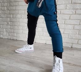 Spodnie street boy ocean ocieplane