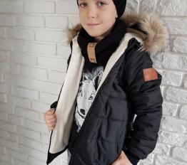 Kurtka zimowa Style Kids czarna