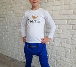 Bluzka książę biały Style Kids