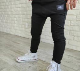 Spodnie baggy czarne mikoo