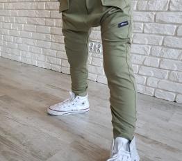 Spodnie baggy olive mikoo