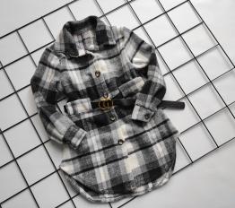 Sukienka/ płaszczyk krata