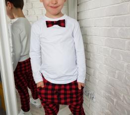 Spodnie Style Kids krata