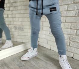 Spodnie Despacito basic niebieskie