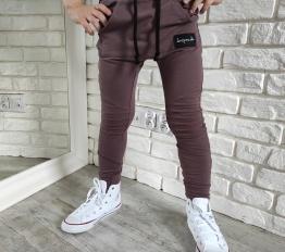 Spodnie Despacito basic kawowe