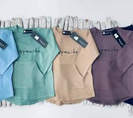 bluzka basic LONG despacito patynowa