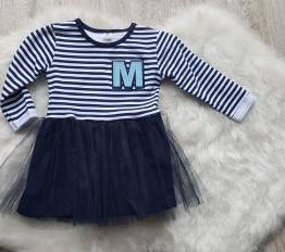 Sukienka M i tiul